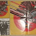 Judas Priest Screaming with vengeance LP with poster Tape / Vinyl / CD / Recording etc