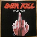 Overkill - Tape / Vinyl / CD / Recording etc - Overkill - Fuck You EP UK press