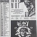 Why Not and Heavy Records - Austrian recordshops on advert