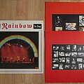 Rainbow - Tape / Vinyl / CD / Recording etc - RAINBOW On stage 2LP first UK press 1977