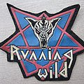 Running Wild - Patch - RUNNING WILD old rubber patch from 80's.