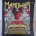 Manowar Battle Hymns Old big rubber backpatch