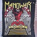 Manowar - Patch - Manowar Battle Hymns Old big rubber backpatch