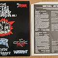 Grave Digger - Tape / Vinyl / CD / Recording etc - Metal Attack Vol 1. LP 1985