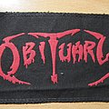 OBITUARY old patch 1989