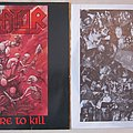 Kreator - Tape / Vinyl / CD / Recording etc - KREATOR Pleasure to kill LP 1986