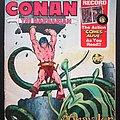 CONAN The barbarian Comics with 7 inch record 1976