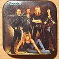 Accept - Other Collectable - ACCEPT - Eat the heat - Old Button