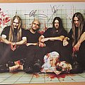 Legion Of The Damned - Other Collectable - Legion Of The Damned fully signed promo flyer