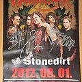 Warbringer - Other Collectable - WARBRINGER + Stonedirt 2012.08.01. Hungary gig poster