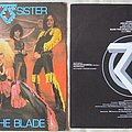 Twisted Sister - Under the blade - Italy press Tape / Vinyl / CD / Recording etc