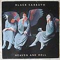 Black Sabbath - Heaven and hell UK LP 1980