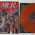 EXUMER Hostile defiance - orange marbled vinyl
