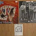 ADX - Tape / Vinyl / CD / Recording etc - ADX - Weird visions LP