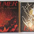 Exumer Fire and damnation fully signed CD
