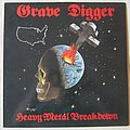 Grave Digger - Heavy Metal Breakdown LP US press 1984