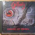 Obituary - Cause Of Death CD 1990 Tape / Vinyl / CD / Recording etc