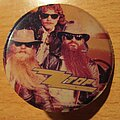 ZZ Top - Other Collectable - ZZ TOP - old plastic button