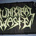Municipal Waste Logo Patch