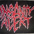 Insanity Alert - Patch - Insanity Alert patch