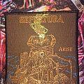 Sepultura - Arise patch