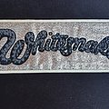 Whitesnake Logo Patch