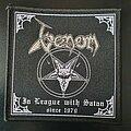 Venom - Patch - Venom - In League With Satan Patch