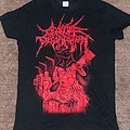 Cattle Decapitation Tshirt - The Decapitation of Cattle (red)