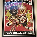 Cattle Decapitation garbage pail kids poster