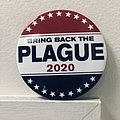 Cattle Decapitation Bring Back the Plague button Pin / Badge