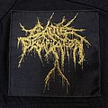 Cattle Decapitation - Patch - Cattle Decapitation gold logo patch