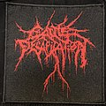 Cattle Decapitation drip logo embroidered patch