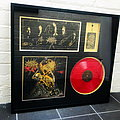 Cattle Decapitation framed Death Atlas Blood Moon variant vinyl Other Collectable
