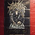 Cattle Decapitation European Extinction Tour Poster Other Collectable