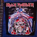 Iron Maiden - Patch - Iron Maiden - Aces High - Back Patch 1984 (Brown Version)