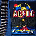 AC/DC - Patch - AC/DC - Monsters of Rock 1984 vintage Backpatch
