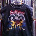 Destruction - Eternal Devastation 1986 original vintage muscle Shirt