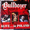 Bulldozer - Alive...in Poland LP 1990