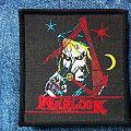 Warlock - Hellbound original vintage woven Patch