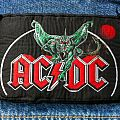 AC/DC - Patch - AC/DC - Monsters of Rock 1984 original woven Patch