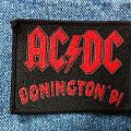 AC/DC - Donington '91, Monsters of Rock vintage woven Patch