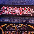 Morbid Angel Logo Stripe Patch