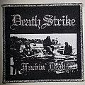 Death Strike - Patch - Fuckin' Death
