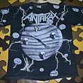 ANTHRAX Persistence of Time 1990 full print T-shirt