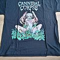 Cannibal Corpse Worm Infested Original unused banned back TShirt or Longsleeve