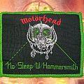 Motörhead - No Sleep 'til Hammersmith Official Patch