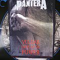 Pantera - Vulgar Display Of Power Official Vintage Back Patch
