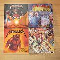 Atrophy/Alcoholator/Metallica/Tankard Vinyl