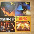 Trance, Scorpions, AC/DC LPs Tape / Vinyl / CD / Recording etc