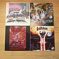 Girlschool/Destruction/Kreator LPs Tape / Vinyl / CD / Recording etc